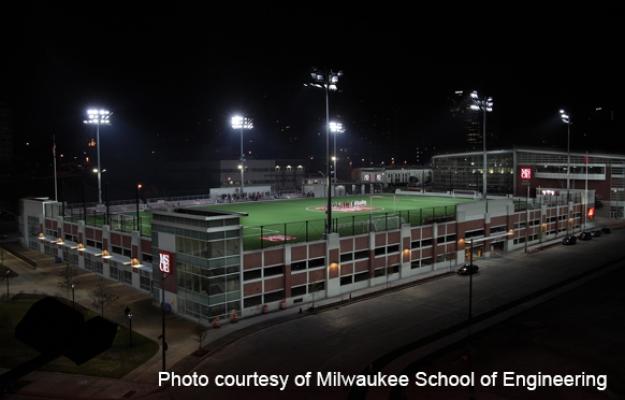Milwaukee School Of Engineering Viets Field Greenlamps Usa